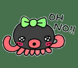machan of octopus sticker #5160775