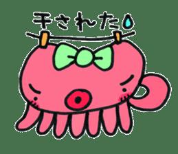 machan of octopus sticker #5160779