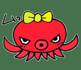 machan of octopus sticker #5160780