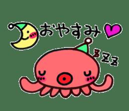 machan of octopus sticker #5160789