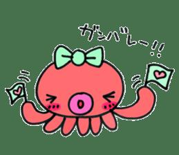 machan of octopus sticker #5160794