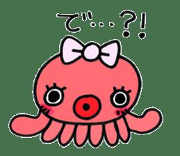 machan of octopus sticker #5160801