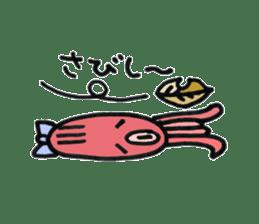 machan of octopus sticker #5160803