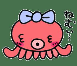 machan of octopus sticker #5160805