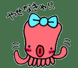 machan of octopus sticker #5160806