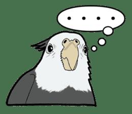 Whimsical Cockatiel sticker #5161873