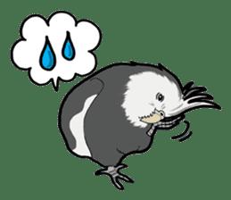 Whimsical Cockatiel sticker #5161880