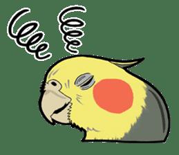 Whimsical Cockatiel sticker #5161881