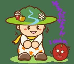 Iida dialects of Dan-Q-Kun sticker #5162550