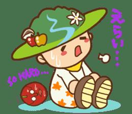 Iida dialects of Dan-Q-Kun sticker #5162558