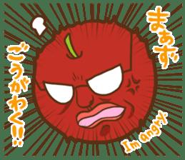 Iida dialects of Dan-Q-Kun sticker #5162561