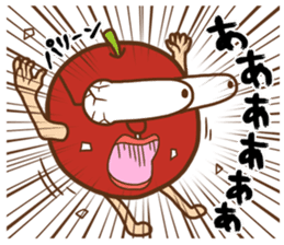 Iida dialects of Dan-Q-Kun sticker #5162568