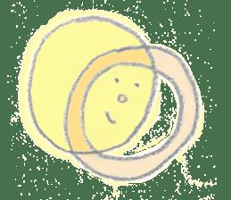 moon's yellow sticker #5163176