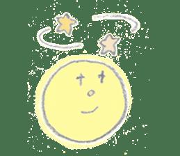 moon's yellow sticker #5163196