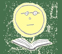 moon's yellow sticker #5163197