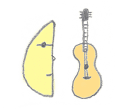 moon's yellow sticker #5163208