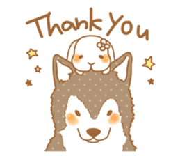 wolf&rabbit sticker #5170776
