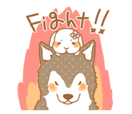 wolf&rabbit sticker #5170782