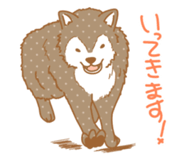 wolf&rabbit sticker #5170785