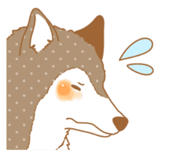 wolf&rabbit sticker #5170790