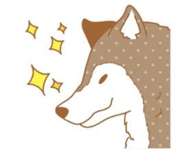 wolf&rabbit sticker #5170791