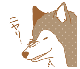 wolf&rabbit sticker #5170792