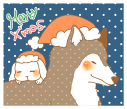 wolf&rabbit sticker #5170806