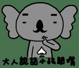 poker bear sticker #5172344