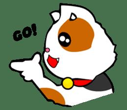 Mike the Tri-Color Cat sticker #5173263