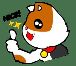 Mike the Tri-Color Cat sticker #5173264