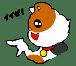 Mike the Tri-Color Cat sticker #5173265