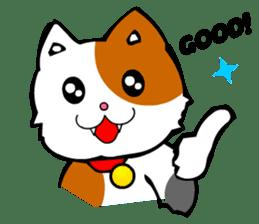 Mike the Tri-Color Cat sticker #5173267