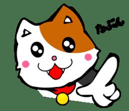 Mike the Tri-Color Cat sticker #5173276