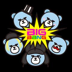สติ๊กเกอร์ไลน์ KRUNK x BIGBANG