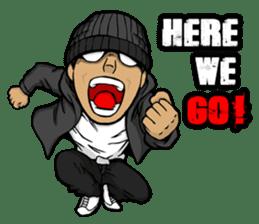 JEY-J (The Hip-Hop Artist) English ver. sticker #5183773