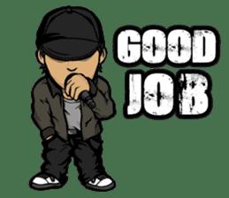 JEY-J (The Hip-Hop Artist) English ver. sticker #5183774