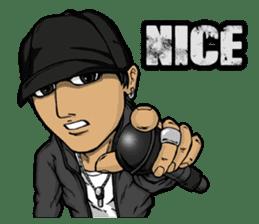 JEY-J (The Hip-Hop Artist) English ver. sticker #5183775