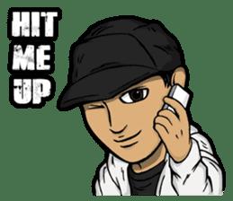 JEY-J (The Hip-Hop Artist) English ver. sticker #5183777