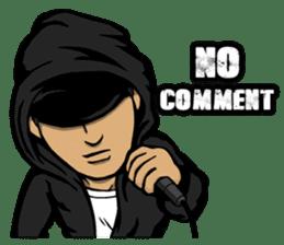 JEY-J (The Hip-Hop Artist) English ver. sticker #5183793