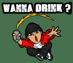 JEY-J (The Hip-Hop Artist) English ver. sticker #5183805