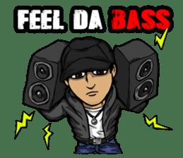 JEY-J (The Hip-Hop Artist) English ver. sticker #5183807