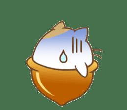 CatAcorn sticker #5184826