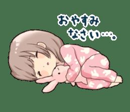 Usagikei kanojo sticker sticker #5189573