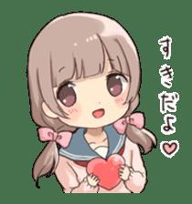 Usagikei kanojo sticker sticker #5189575