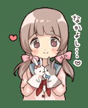Usagikei kanojo sticker sticker #5189603