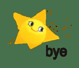 Happy star is running around world 2 sticker #5190117