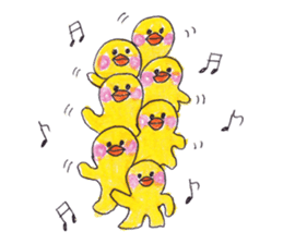 Celebrate all the events with chicks. sticker #5192459