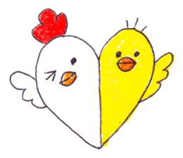 Celebrate all the events with chicks. sticker #5192468