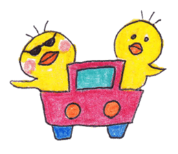 Celebrate all the events with chicks. sticker #5192483
