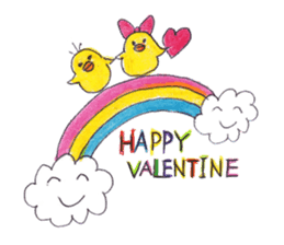 Celebrate all the events with chicks. sticker #5192485